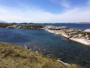 Koupání Averoy Norsko